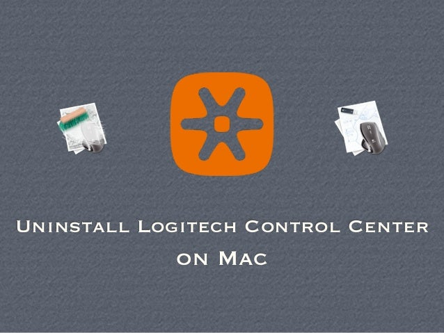 logitech control center remove mac