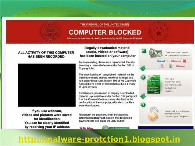 Remove COMPUTER BLOCKEDhttp://malware-protction1.blogspot.in