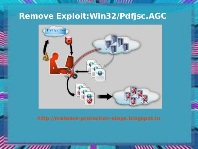 Remove Exploit:Win32/Pdfjsc.AGC   http://malware-protection-steps.blogspot.in