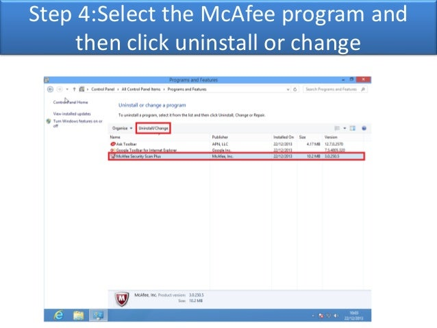McAfee is automatically setting my search engine to Secure ...