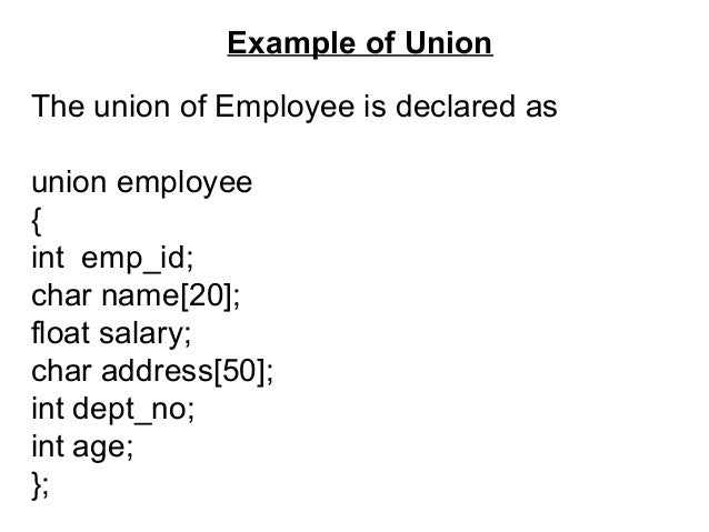 Difference between structure and union in c geeksforgeeks.