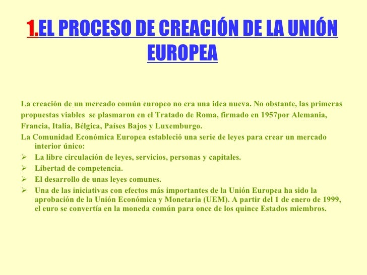 Union Europea Slide 2