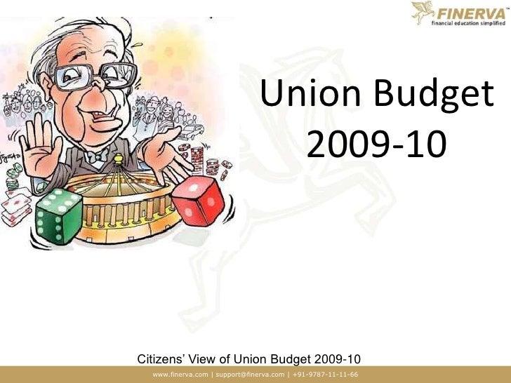 Union Budget 2009-10<br />