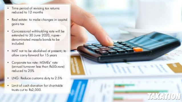 union budget of india Middle class can hope for a big relief in the union budget 2018, which will also be the last regular budget of the nda government, as the finance ministry is contemplating to hike personal.