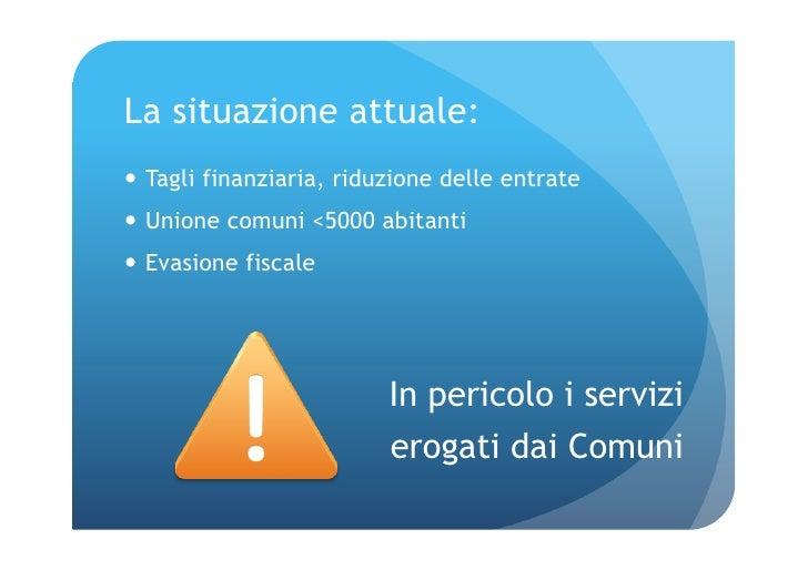 Unione comuni comuni nuvole Slide 2