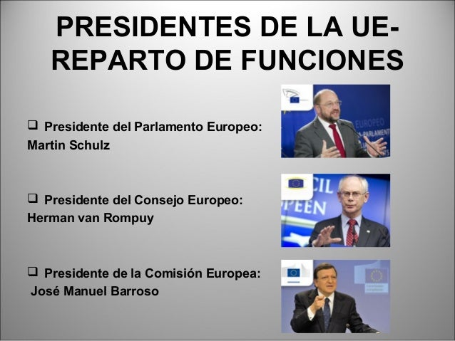 Union europea for Presidente del consejo europeo