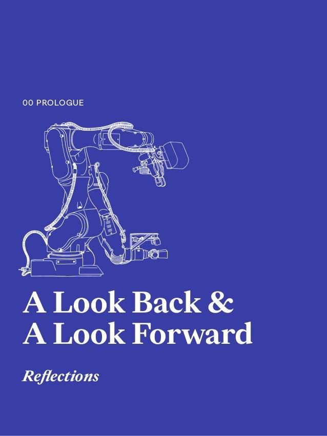 5 A Look Back & A Look Forward Reflections 00 PROLOGUE