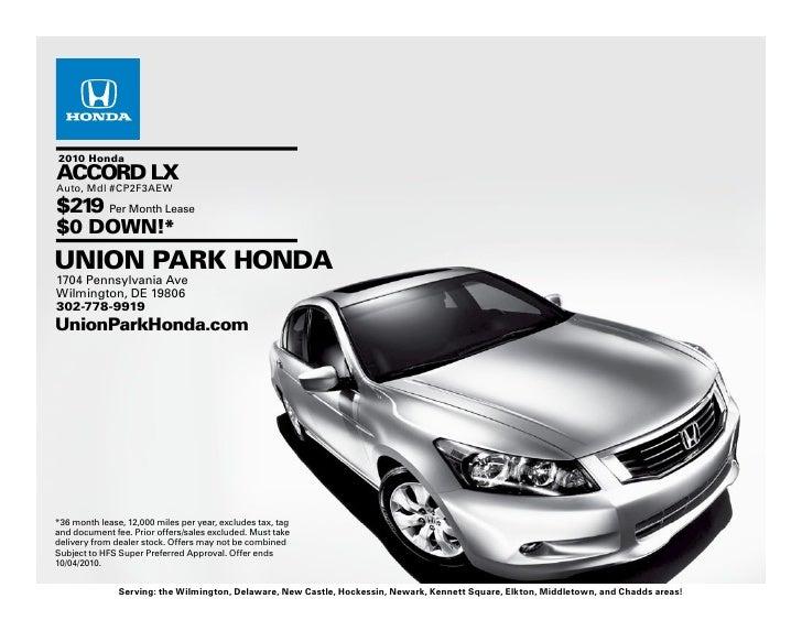 2010 Honda Accord Wilmington DE