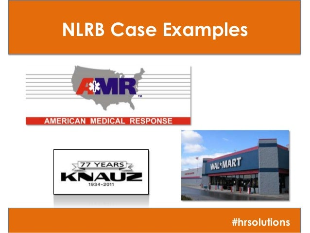 NLRB, Social Media, and Employee Handbooks