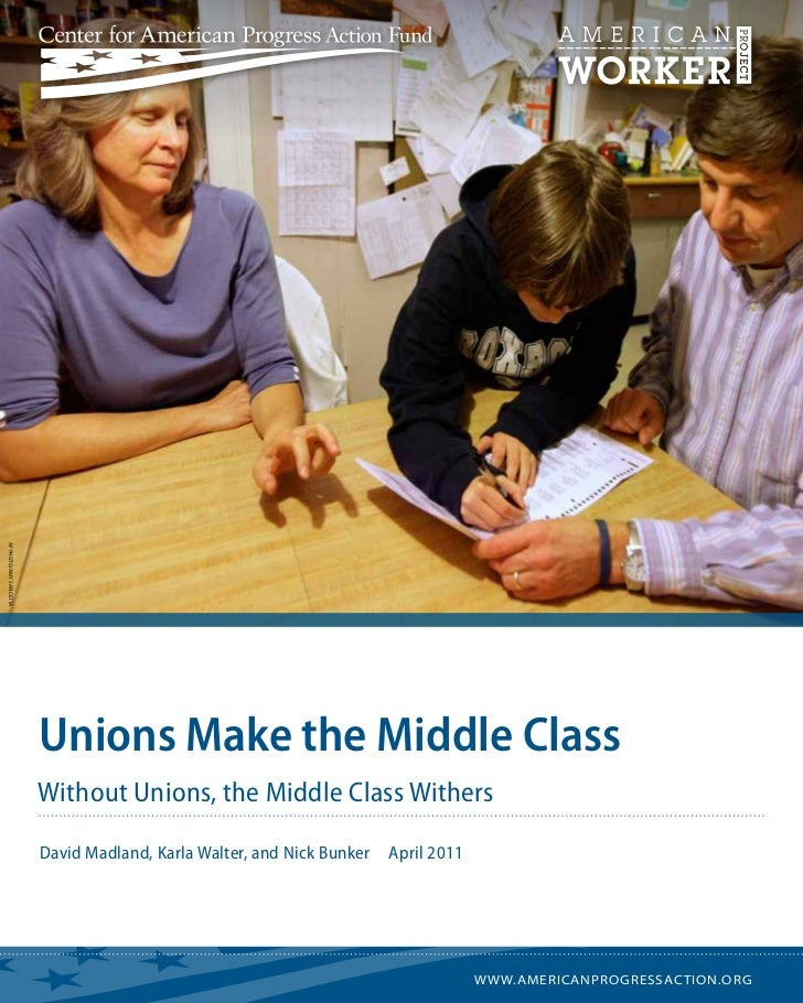 AP Photo/Amy Sancetta                        Unions Make the Middle Class                        Without Unions, the Middl...