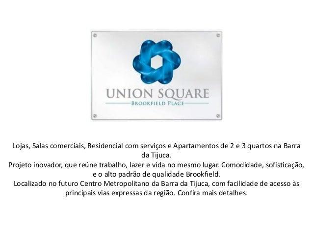 Lojas, Salas comerciais, Residencial com serviços e Apartamentos de 2 e 3 quartos na Barra                                ...