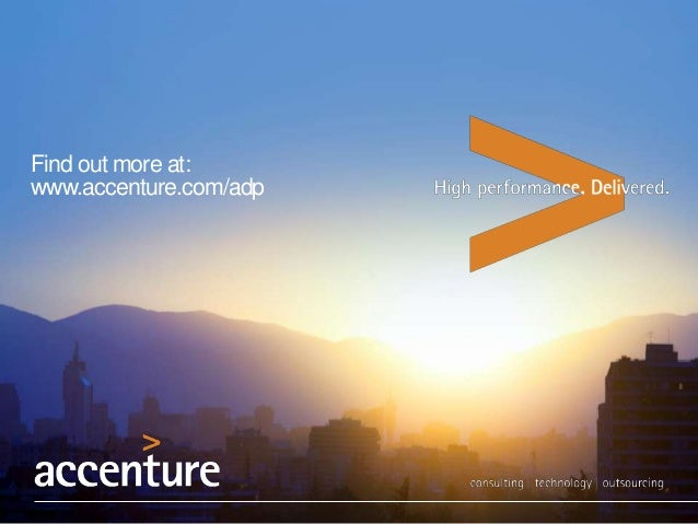 Find out more at: www.accenture.com/adp