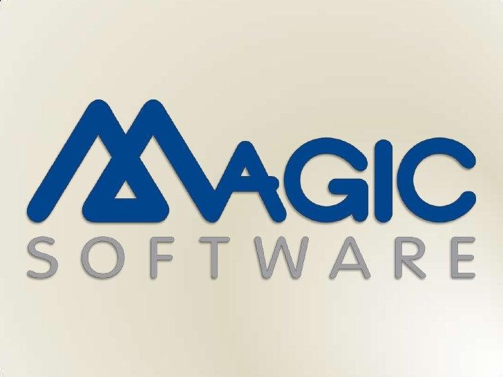Business Application                               Metadata repository (XML)                            Magic Software Pla...