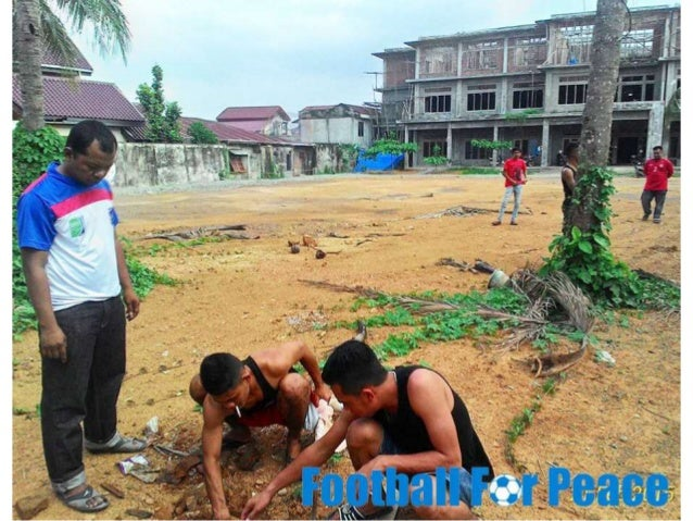 Uni Papua FC Kuta Gle Aceh in- cooperation with the IPPS Dormitory (Student Youth Association Samalanga) Aceh in conductin...