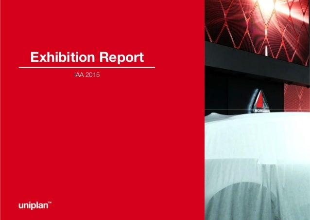 Exhibition Report IAA 2015
