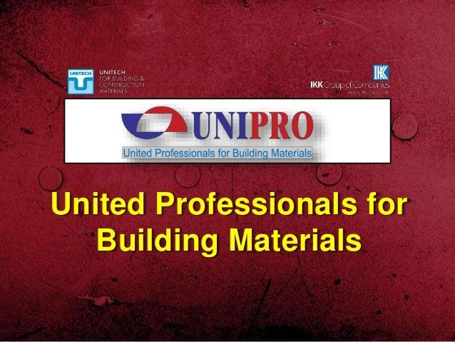 United Professionals for Building Materials
