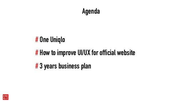 Uniqlo written proposal