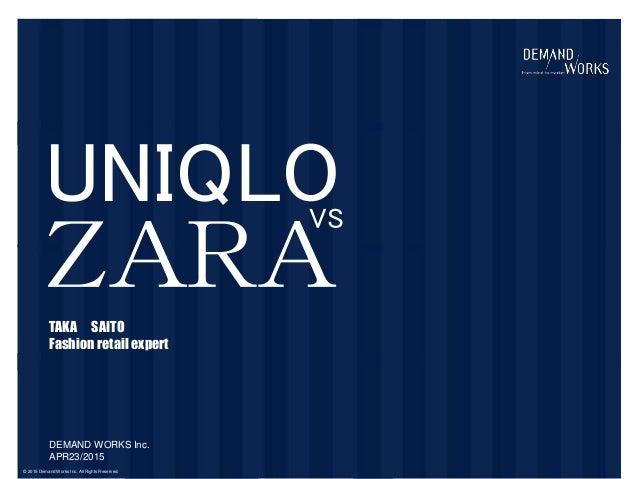 Uniqlo Vs Zara 2014