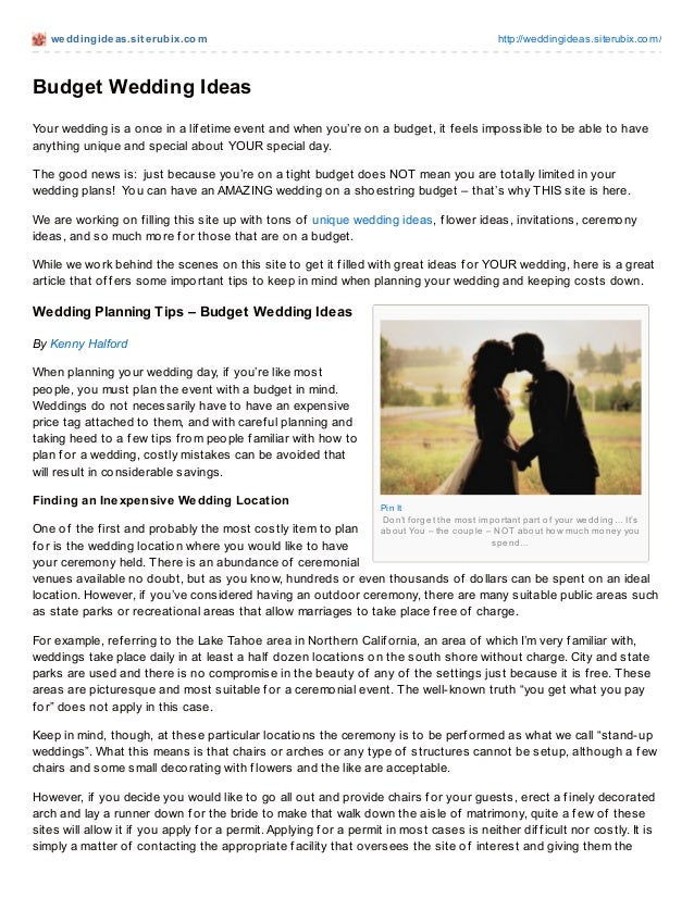 weddingideas.sit erubix.com http://weddingideas.siterubix.com/Pin ItDon't forget the most important part of your wedding… ...