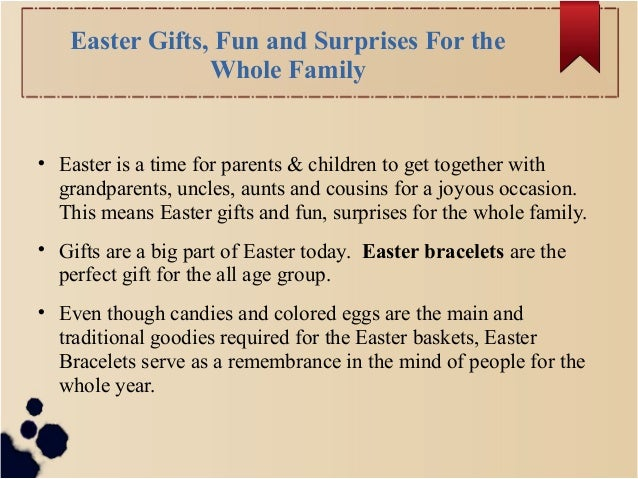 Unique and spiritual easter wristbands easter gifts fun and surprises for the whole family negle Choice Image