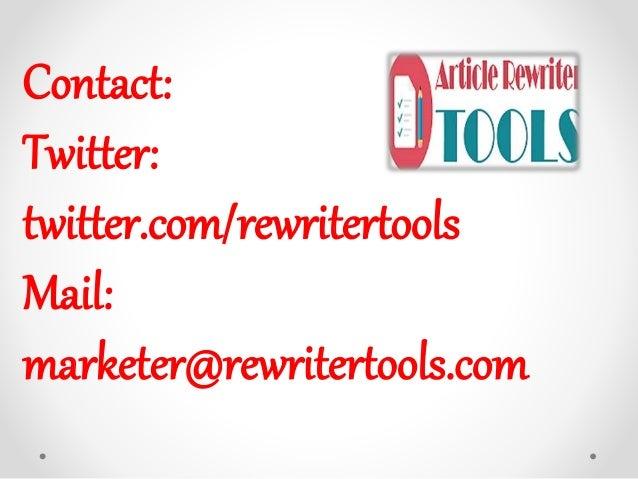 Auto Rewriter