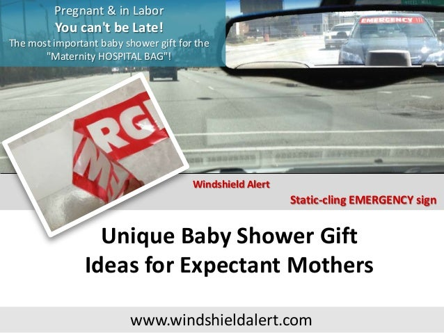 Unique baby shower gift ideas for mom : Unique baby shower gift ideas for expectant mothers