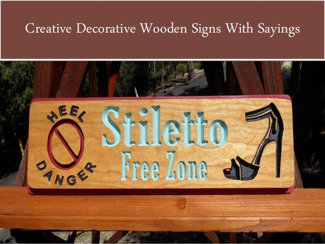 Unique Customized Wood Signs Extraordinary Decorative Wood Signs With Sayings