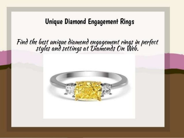 Unique Engagement Rings with Diamond