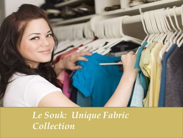 Le Souk: Unique Fabric Collection