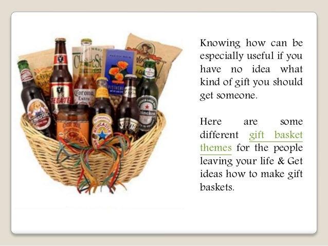 Unique gift basket theme ideas