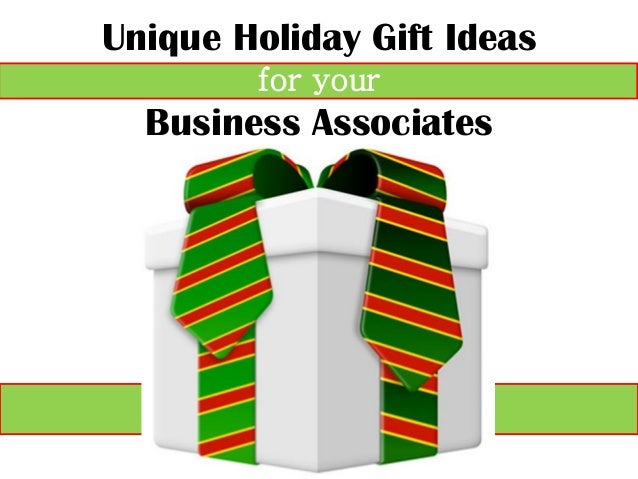 sc 1 st  SlideShare & Unique Holiday Gift Ideas for Your Corporate Clients