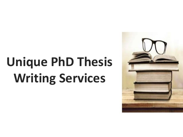 Phd writing service