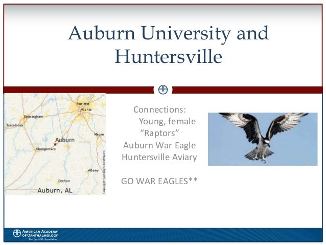 "Auburn University and Huntersville Connections: Young, female ""Raptors"" Auburn War Eagle Huntersville Aviary GO WAR EAGLES..."