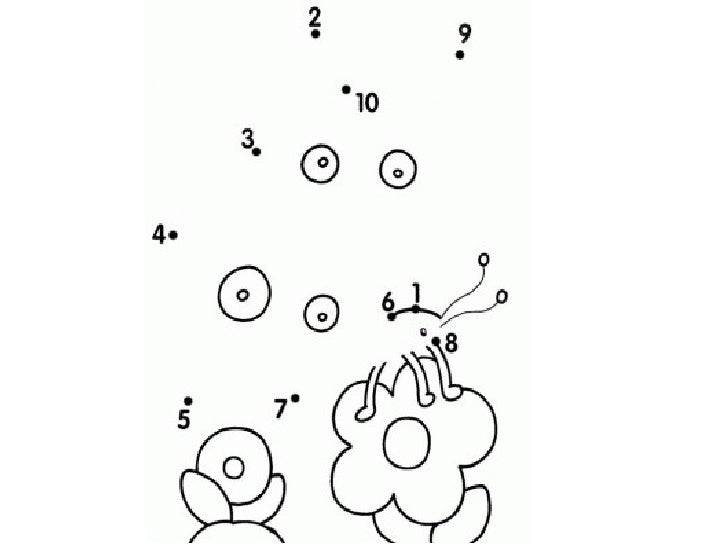 Unir 1 Al 10 on Connect The Dots For Kids