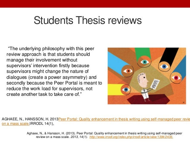 Thesis on distance education