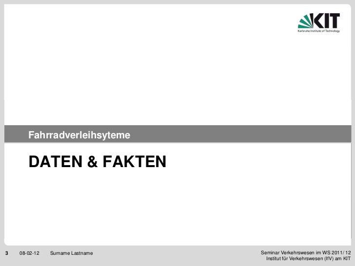 Fahrradverleihsysteme Slide 3
