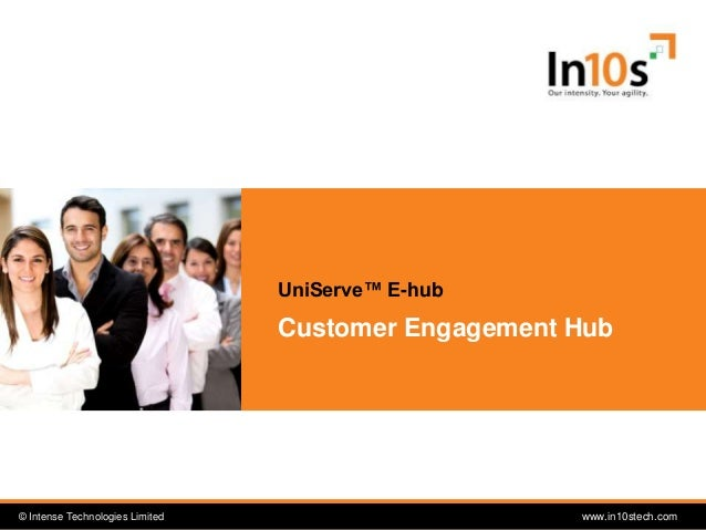 © Intense Technologies Limited© Intense Technologies Limited www.in10stech.com Customer Engagement Hub UniServe™ E-hub