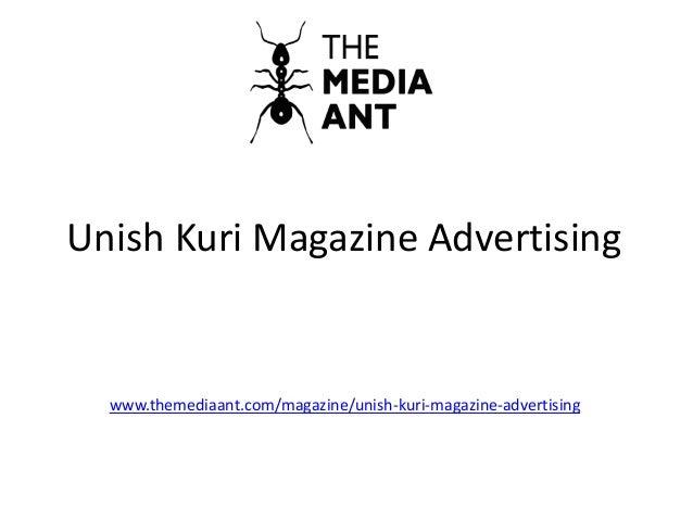 Unish Kuri Magazine Advertising www.themediaant.com/magazine/unish-kuri-magazine-advertising