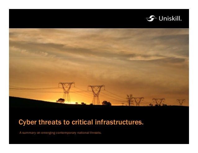 ECSA Lecture – 15.06.2006 Cyber threats to critical infrastructures. A summary on emerging contemporary national threats.