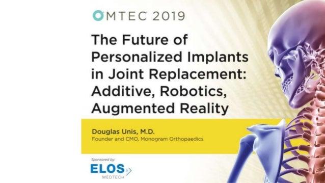 Orthopaedics Reimagined
