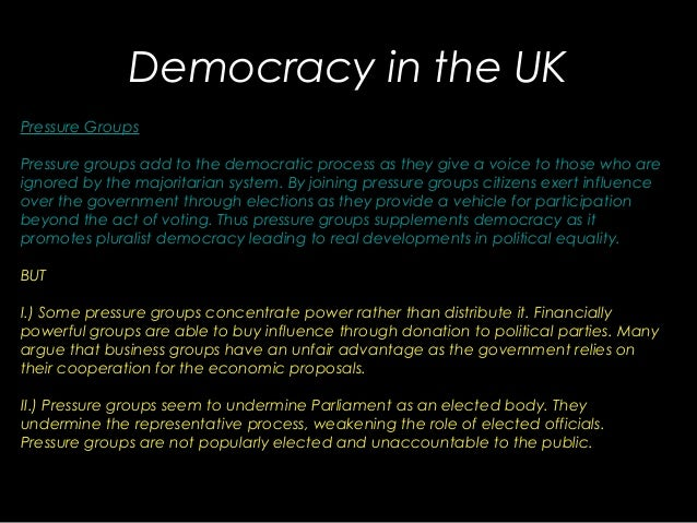 Is the uk a democracy essays