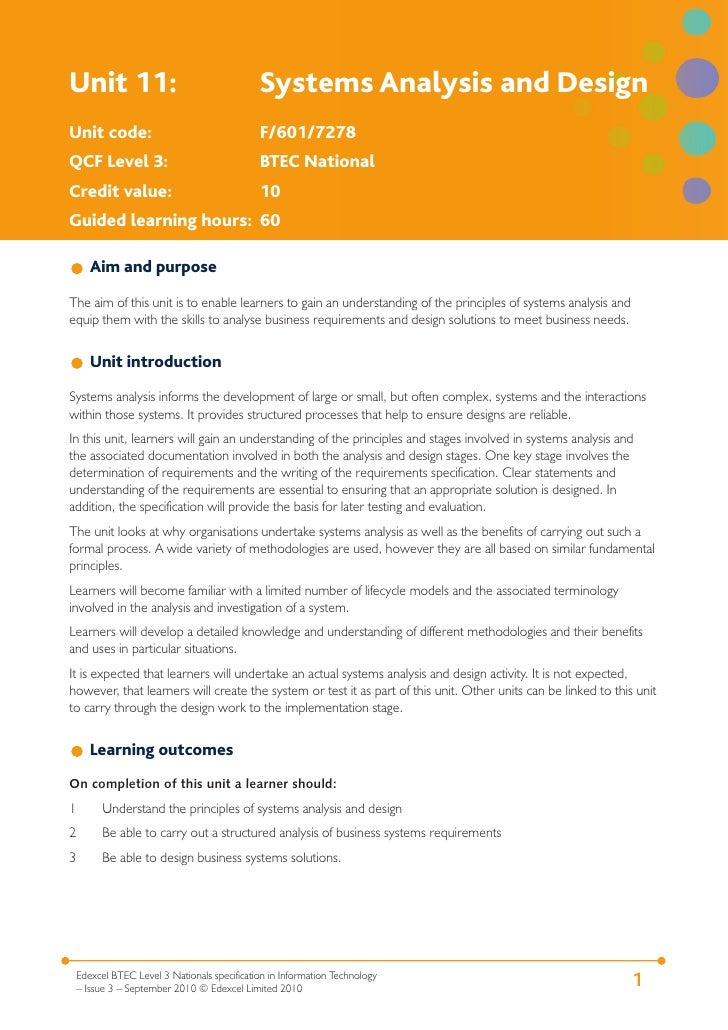 unit 11 systems analysis and design p5