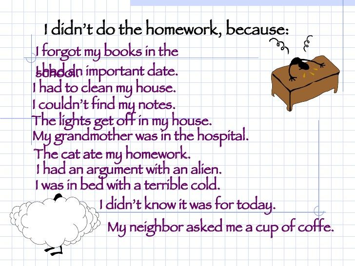 10 reasons why i should do my homework