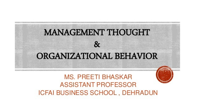 relevance of organisational behaviour in todays business environment