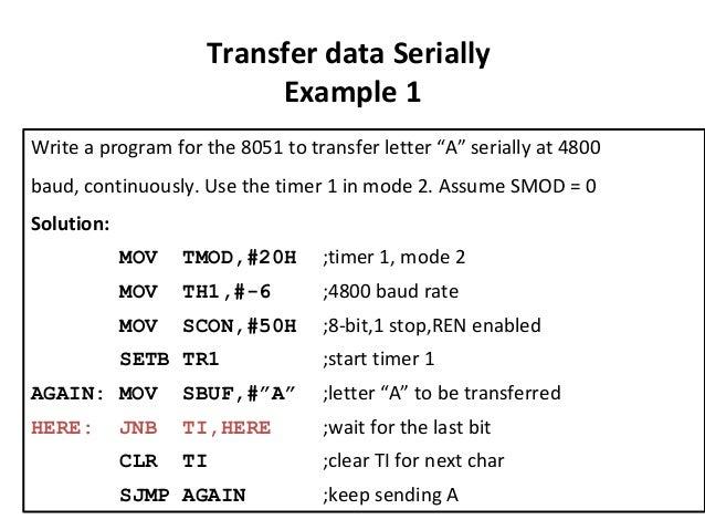 Addressing Mode And Instruction Set Using 8051