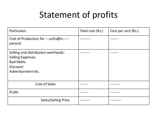 production cost statement Start studying fundamentals of cost accounting 4th edition: chapter 13 (pforsich) learn vocabulary, terms, and more with flashcards production cost, and marketing/admin costs b presents a statement of expectations for a period of time but does not present a firm commitment.