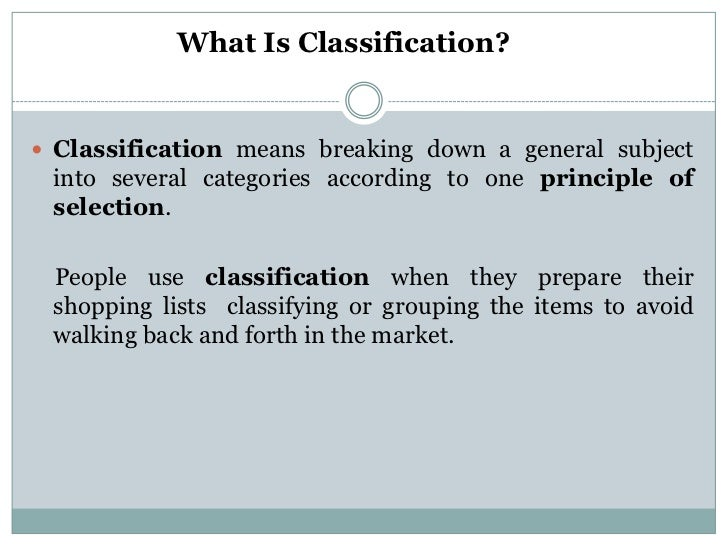 classification essay classification essay<br >unit 2<br > 2