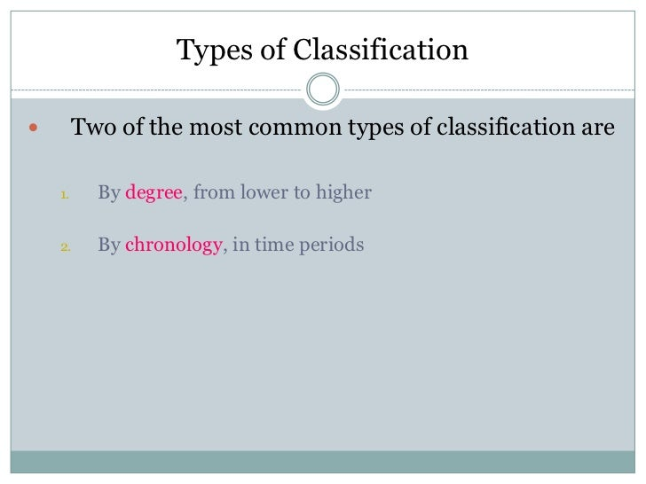 classification essay types of classification<br