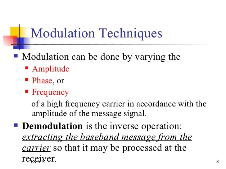 modulation techniques Ip multimedia communications a special issue from ijca - wwwijcaonlineorg 25 performance analysis of different m-ary modulation techniques in cellular mobile communication.