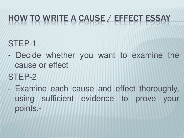 unit cause effect essay  6 how to write a cause effect essay<br
